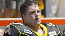 Peter Dyakowski during his Hamilton Tiger-Cats days (John E. Sokolowski)