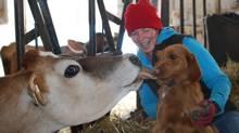 Rachel Green, a farmer for Harmony Organic. (Catherine McLean)