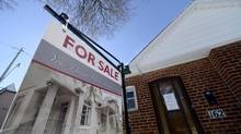 A home on Delaney Crescent and Brock Ave. in Toronto on March 3 2014. (FRED LUM/THE GLOBE AND MAIL)