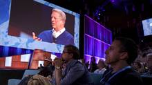 Speaking at a TED conference in Vancouver, which runs from Monday to Friday, Al Gore joined in on a debate about geoengineering, the process of attempting to reverse climate change using large-scale interventions. (Bret Hartman/TED/Bret Hartman/TED)