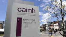 The CAMH in Toronto is asking for the review as part of its sweeping recommendations on how policy makers and physicians can address an epidemic of overdose deaths across Canada. (Fred Lum/The Globe and Mail)
