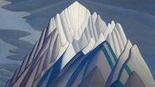 Mountain Forms, an iconic 1926 Rocky Mountain canvas by Group of Seven member Lawren Harris, set a new Canadian art record, selling for $11.2-million at auction in Toronto. (Heffel Fine Art Auction House)