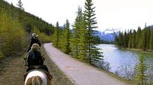 See Banff National Park from the back of a horse. (Sarah MacWhirter/The Globe and Mail/Sarah MacWhirter/The Globe and Mail)