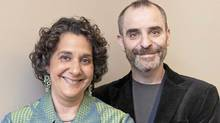 Authors Ruth Rakoff and David Rakoff photographed in Toronto on Sept. 16, 2010. (Ryan Enn Hughes/The Globe and Mail)