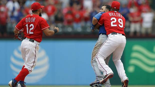 When fists fly in a baseball brawl, 'anything goes,' Kevin Pillar says - The Globe and Mail