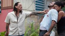 Danny Trejo, Amaury Nolasco and Gina Carano in In the Blood (Francisco Roman)