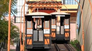 Take Angels Flight, the shortest train ride anywhere.