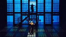 The Canadian Stage production of The Overcoat, at the St James Theatre in Wellington during the New Zealand International Festival of the Arts. (Robert Catto)