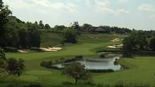 18th hole at National Golf Club of Canada