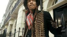 Portrait of Jimi Hendrix from Jan. 1, 1967. (KIPPA/ANP)
