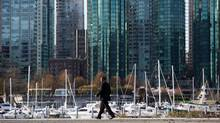 Condos are pictured in Vancouver, B.C., on Friday March 18, 2016. (DARRYL DYCK/THE CANADIAN PRESS)