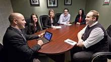 Have an editorial plan, including a calendar of topics for the year ahead and don't bite off more than you can chew: focus on one or two channels - like Twitter and LinkedIn, for example - and grow from there. (Jason Franson/The Globe and Mail)