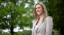 NDP MP Ruth Ellen Brosseau. (Dave Chan for The Globe and Mail)