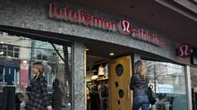 A Lululemon store in downtown Vancouver. (ANDY CLARK/REUTERS)