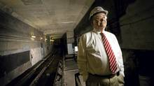 Peter Allibone, project manager on the Eglinton LRT (Kevin Van Paassen//The Globe and Mail)