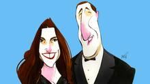 Nazanin Afshin-Jam and Peter MacKay (Anthony Jenkins/The Globe and Mail)