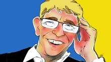Illustration of Mikael Ohlsson, president and chief executive officer, IKEA. (ANTHONY JENKINS/THE GLOBE AND MAIL)