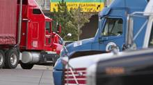 Theft of truck cargo is a little known crime that costs the freight industry millions or even billions of dollars each year as organized criminal gangs roam transportation hubs in Southern Ontario and Quebec, security experts say. (GLENN LOWSON FOR THE GLOBE AND MAIL)