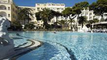 Grand Hotel Quisisana on the isle of Capri.