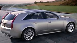 Cadillac CTS Sport Wagon.