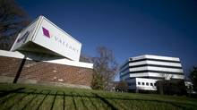 The headquarters of Valeant Pharmaceuticals International Inc., seen in Laval, Quebec November 9 2015. (CHRISTINNE MUSCHI/REUTERS)