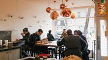 When HotBlack Coffee opened in downtown Toronto a year ago, it took a risk few businesses would dare take in today's online-driven world: it turned off the WiFi. (Christine Lim/HotBlack Coffee/Christine Lim/HotBlack Coffee)