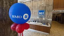 Bank of Montreal is the first of Canada's Big Six banks to report its financial results this week. (Brian Kersey for The Globe and Mail/Brian Kersey for The Globe and Mail)