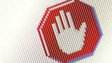 Stop sign symbol on computer screen (NA/(C) 2006 Pixoi Ltd)