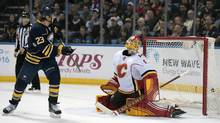 Johan Larsson Scores Winner In Buffalo Sabres' 6-3 Win Over Calgary Flames