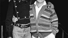 Jackson and Anka worked together on material for a duet album in the early 1980s. (Sony Music)