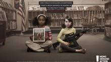 A print ad produced by the Toronto office of GREY for Moms Demand Action for Gun Sense in America. (Courtesy of GREY)