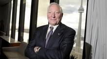 Joseph Rotman in November, 2009, when he was inducted into the Business Hall of Fame. (Tibor Kolley/The Globe and Mail)