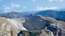 Aerial view of the Thompson Creek Mine in Idaho. (Thompson Creek Metals)