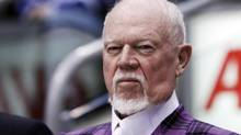 Hockey commentator and former coach Don Cherry looks on during the 2011 CHL/NHL top prospects skills competition in Toronto, January 18, 2011. (MARK BLINCH/REUTERS)