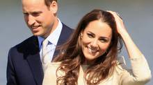Prince William, Duke of Cambridge and Catherine, Duchess of Cambridge arrive for an official welcome ceremony at the Somba K'e Civic Plaza on July 5, 2011 in Yellowknife, Canada. (Chris Jackson/Chris Jackson / Getty Images)