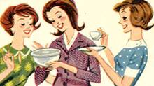 A Tupperware ad from the 1950s