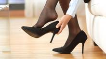 Servers clad in short skirts and stilettos could soon be a thing of the past, as British Columbia and Ontario take steps to ditch sexualized dress codes. But women in other industries can face unwritten expectations of lipstick and heels, say workplace equality experts. (AntonioGuillem/Getty Images/iStockphoto)
