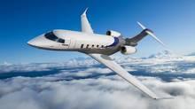 Bombardier's Challenger 350 business jet. (Handout)