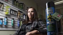 Heidi Kuus, co-founder of the Toronto-based manufacturer and distributor of Knock Down, lacks the resources to fight knockoff goods on the Web. (Tim Fraser For The Globe and Mail)