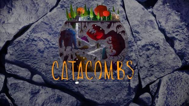 1. Catacombs is a fantasy board game where players flick wooden discs through a set of rooms battling monsters and getting treasure. Elzra Games, the Hamilton-based company behind the project, has raised $233,771 of its $40,000 goal on Kickstarter.