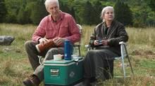 James Cromwell and Geneviève Bujold in Still Mine. (Ken Woroner)