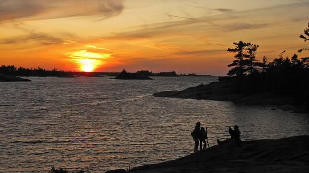 Georgian Bay Islands National Park Cabins Bay Islands National Park