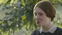 Mia Wasikowska in a scene from Jane Eyre.