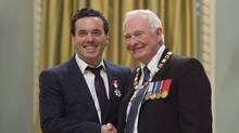 Joseph Boyden's investiture as a member of the Order of Canada was in recognition of his written work and support for First Nations. Boyden's aboriginal identification has played an enormous part of his working identity. (Adrian Wyld/THE CANADIAN PRESS)