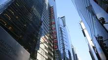 Ernst & Young's payment is the largest ever in a securities class-action case involving a company listed solely in Canada. (Stephen Yang/Bloomberg)