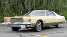 1976 Mercury Grand Marquis owned by Donald Whiteman. (Bob English for The Globe and Mail)