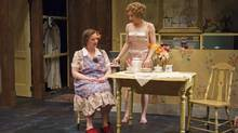 Kate Hennig as Bodey, left, and Deborah Hay as Dorothea in A Lovely Sunday for Creve Coeur. (David Cooper)