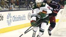 Minnesota's Mathew Dumba the only NHLer named to Canada's World Junior Hockey squad (MIKE MUNDEN/The Associated Press)