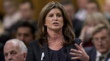 Rona Ambrose speaks during Question Period in the House of Commons. (Adrian Wyld/Adrian Wyld/THE CANADIAN PRESS)