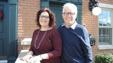 Suzanne Gerweck and her husband, Keith Branscombe, sold their central Toronto home and moved to Cobourg, Ont.